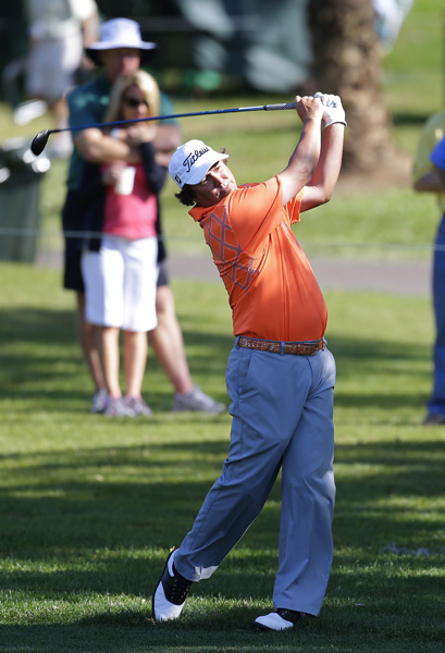 Despite a three-over 74, Jason Dufner is only four shots back.