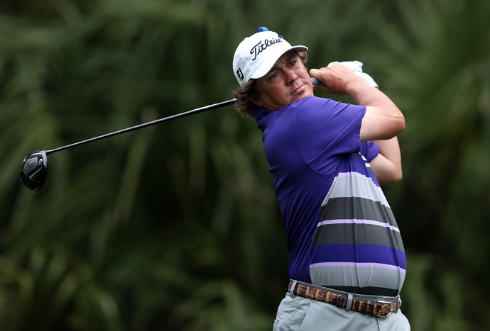 Jason Dufner made an eagle, a birdie and a bogey for a two-under 69.