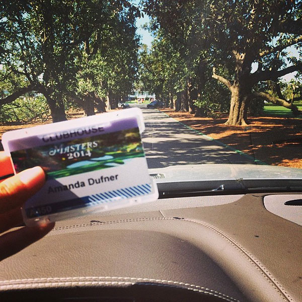 @aduf99: Here we go! #Masters #magnolialane #teamdufner