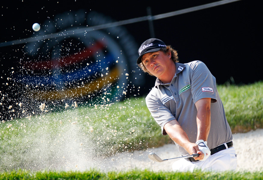 Jason Dufner made five birdies and a bogey for a 66.