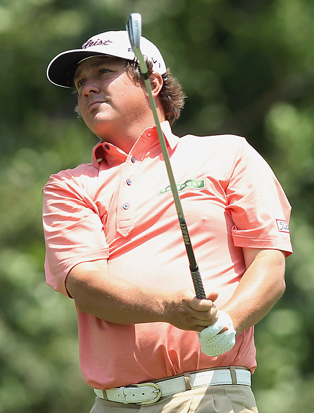 Dufner was on fire at the beginning, making five birdies in his first eight holes.