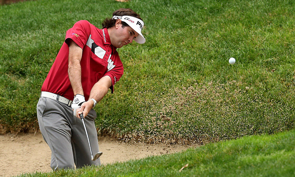 Bubba Watson shot a one-under 71.