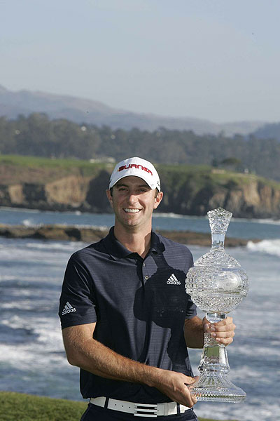 repeated at the AT&T Pebble Beach National Pro-Am in a one-stroke victory Sunday.
