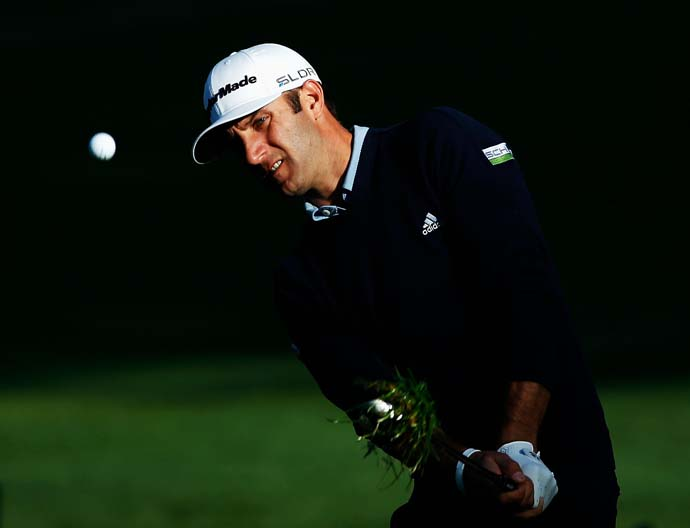 Dustin Johnson finished T2 at the Canadian Open, the national championship of his girlfriend Paulina Gretzky.