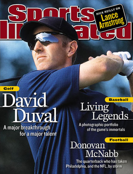 David Duval wins the 2001 British Open at Royal Lytham & St Annes.