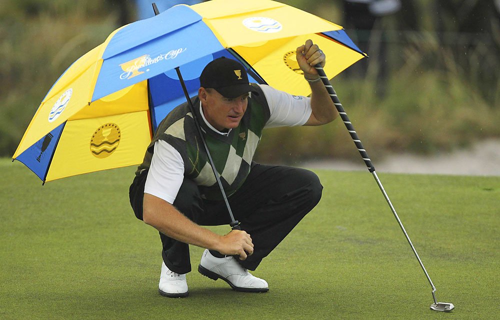 Ernie Els: D+                        Record: 1–4-0                       Not much help from partners; plus, the putter is absolutely killing him.