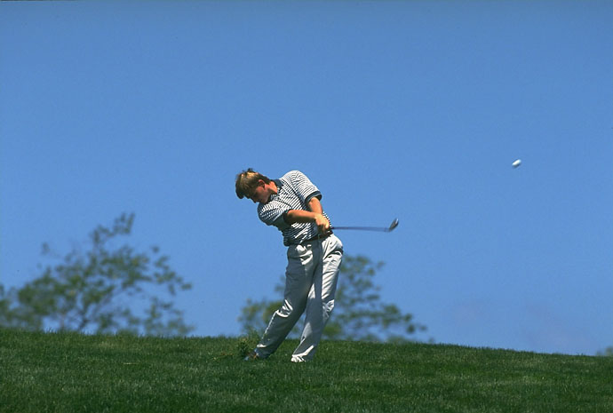 Ernie Els at the 1995 U.S. Open at Shinnecock Hills.