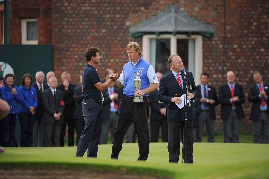 """""""I feel for Adam Scott. He's a great friend of mind,"""" Els said. """"We both wanted to win very badly. But that's the nature of the beast."""""""
