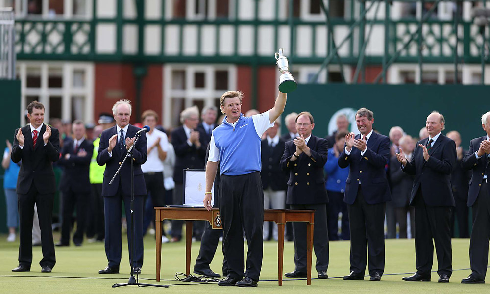 Ernie Els's longevity                           While it was hard not to feel bad for Adam Scott at the British Open, it was also great to see 42-year-old Hall of Famer Ernie Els capture his old magic and win his fourth career major, and his first in 10 years.