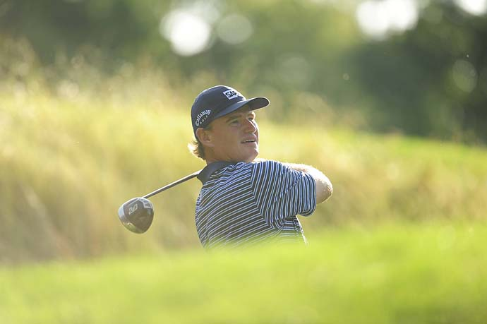 Ernie Els at the 2009 U.S. Open at Bethpage Black.