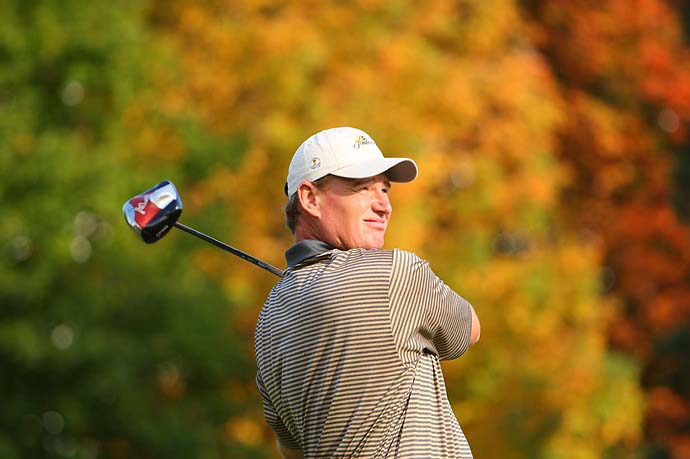 Ernie Els at the 2007 Presidents Cup at Canada's Royal Montreal Golf Club.