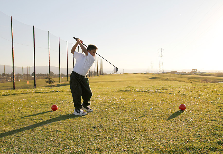 For Sports Illustrated's U.S. Open preview, Alan Shipnuck wrote about the First Tee of Monterey County, which serves the kids of Salinas, like Jose Calderon, above.