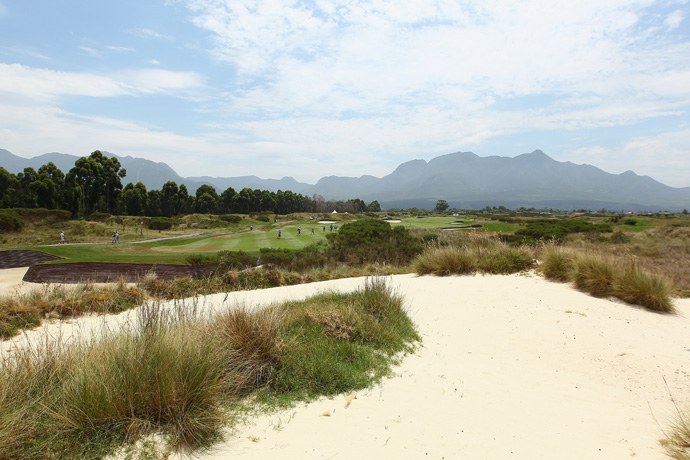 "The Links at Fancourt -- South Africa                             Player Says: ""An engineering marvel in my home of South Africa. I captained the Presidents Cup in 2003 there with my good friend Jack Nicklaus."""