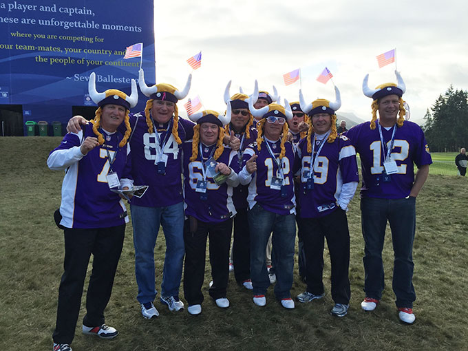 The Minnesota Vikings travel well.