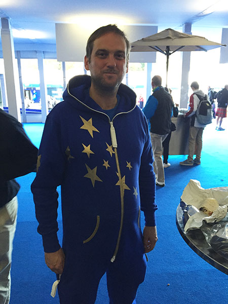 A European-themed onesie!
