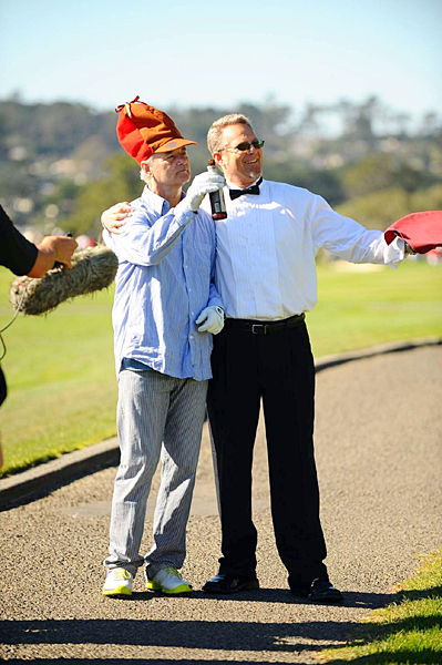Bill Murray's previous best finish in the pro-am competition was a tie for fifth.