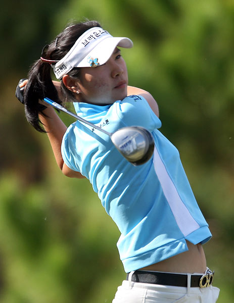 Hee Young Park, 20. Three-time winner and rookie of the year on                           Korean LPGA in '05.