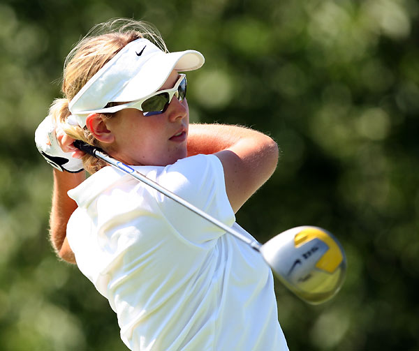Ashleigh Simon, 18. Won a pro event in her native South Africa at                       age 14; also a winner last year on Ladies European tour.