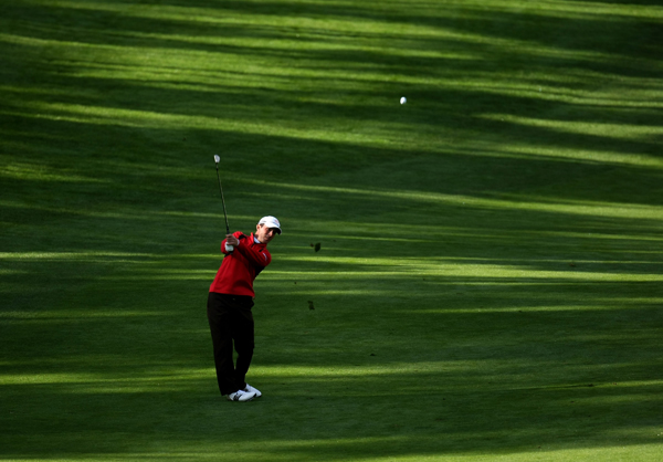 Mike Weir moved into second place after a 69.