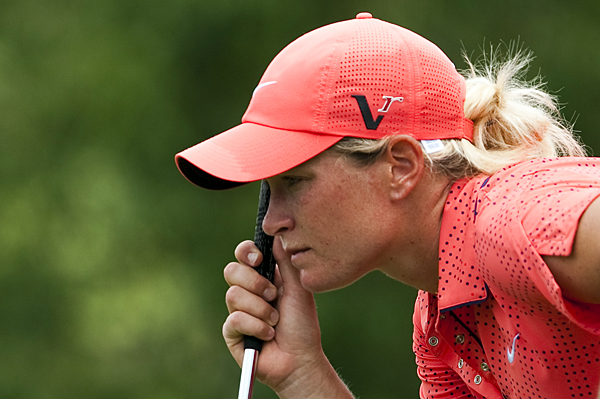 Suzann Pettersen birdied three of the last four holes for a 4-under 68.