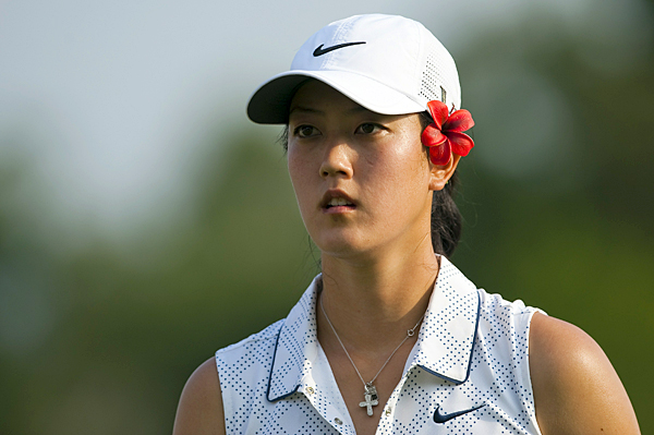 Michelle Wie made five birdies and two bogeys for a 3-under 69.