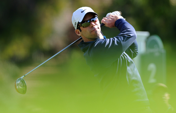 Paul Casey dropped out of contention after a triple bogey on the short par-4 10th.