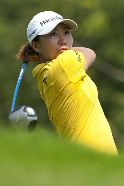 I.K. Kim birdied three of the last four holes to tie Creamer for second place.