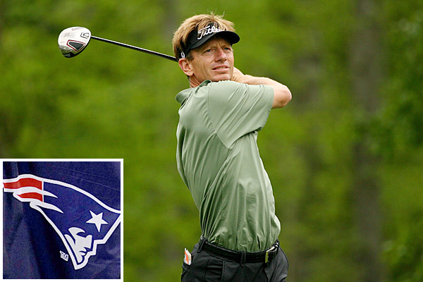 Brad Faxon: New England PatriotsA Rhode Island native, Faxon is a huge fan of the Boston sports scene. Once the golf season is over, Faxon regularly attends Patriots home games and often tweets about the team.