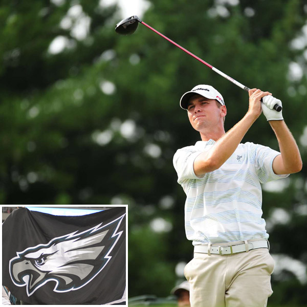 Sean O'Hair: Philadelphia EaglesWhen on Tour, O'Hair is always hungry for news about his Eagles and Phillies. O'Hair, who lives in the Philly suburbs, was treated like a hometown hero when the PGA Tour returned to Philadelphia for the AT&T National.