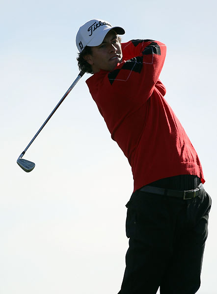 Adam Scott lost his match against Woody Austin in 19 holes.