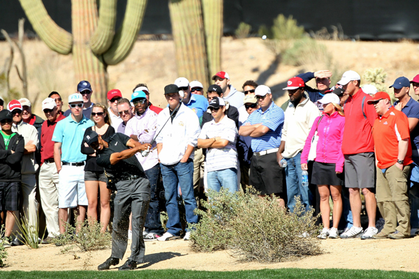 Tiger Woods lost to Thomas Bjorn in 19 holes on the opening day of the WGC-Accenture Match Play Championship.