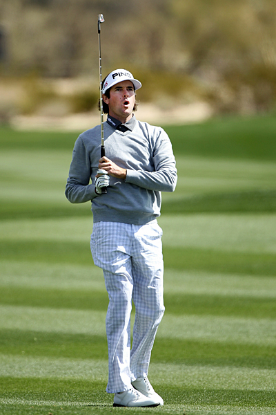Bubba Watson won four straight holes to close out Mark Wilson, 6 and 5.