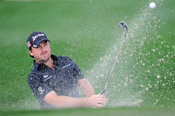 Graeme McDowell got a sloppy 4-and-2 win over Ross Fisher