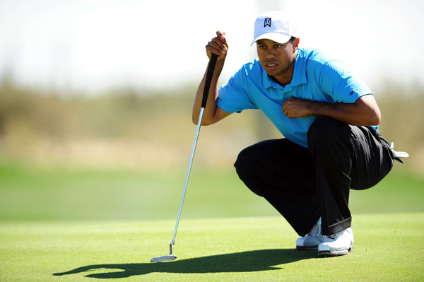 Woods only lost two holes all day, and he never trailed in the match.