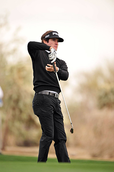 Bubba Watson nearly sent the match to extra holes, but he failed to make a birdie on 18.
