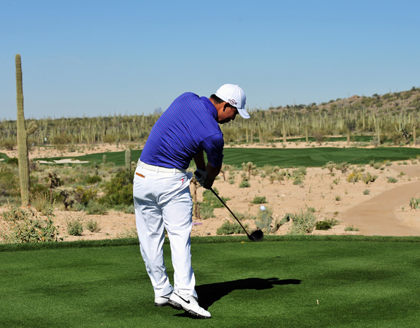 Anthony Kim was upset by Oliver Wilson, 2 and 1.