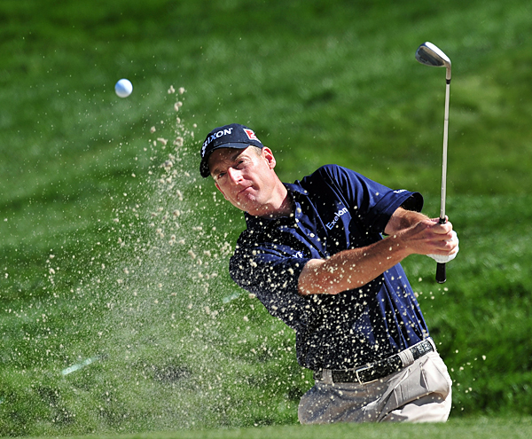 Jim Furyk lost on the 15th hole after Ross Fisher made a birdie.