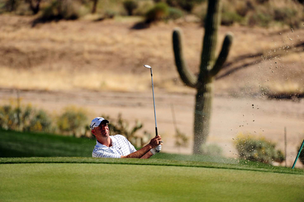 Cink was 2 down after two holes, but he rallied to square the match on the 11th.