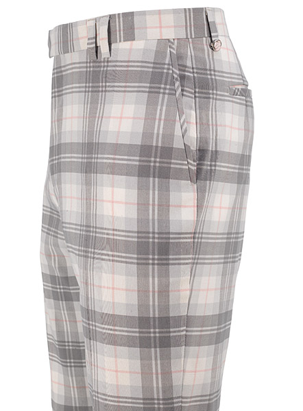 "Tartans are eternal in golf. The newest approved tartan pattern from Ian Poulter Design is called ""white watch"" (kind of the optical reverse of traditional black watch) and will be available this year."