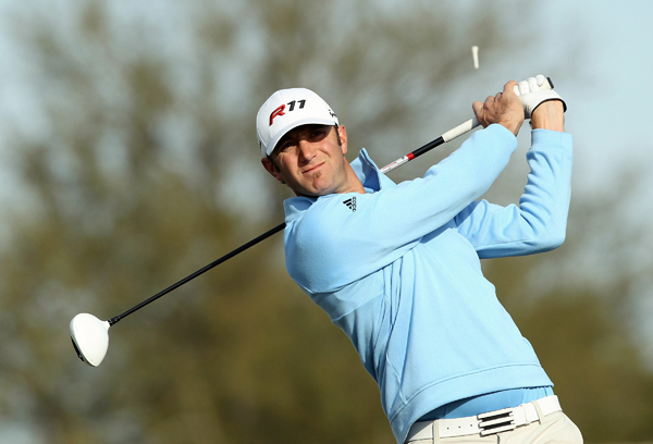 Dustin Johnson opened with a 64, but he was nine shots higher in the second round.