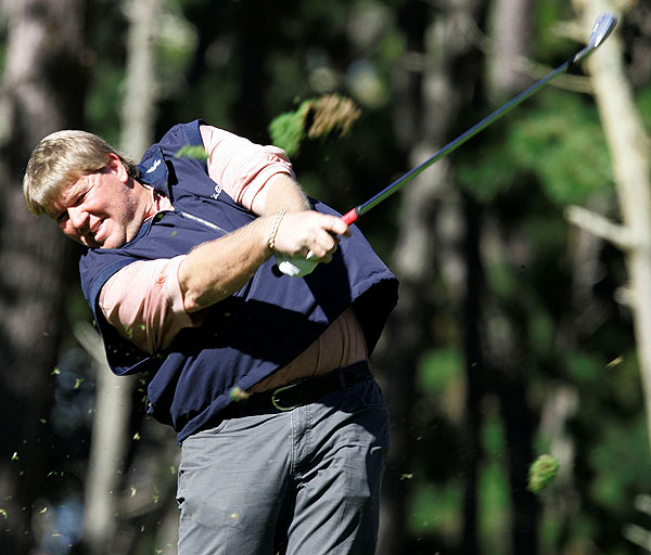 John Daly had a tough day with six bogeys and a double. He is seven over and tied for 177th.
