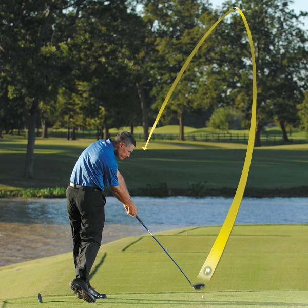 How to Hit a Reliable Draw                            Follow these simple steps to get more roll and work the ball around corners                           By Jim Murphy                           Top 100 Teachers                                                                                 This story is for you if...                                                      • You never know where to hit your tee ball on a dogleg                                                      • You've always wanted to hit a consistent draw...                                                      • ...but you typically end up hitting a consistent slice                                                                                 The Situation                           You're on the tee of a par 4 that turns hard to the left. A straight drive will fly through the dogleg and into trouble, but clubbing down to a hybrid or a long-iron won't give you the distance to comfortably reach the green in two.                                                      The Play                           A POWER DRAW. Hitting one is a straightforward three-step procedure...