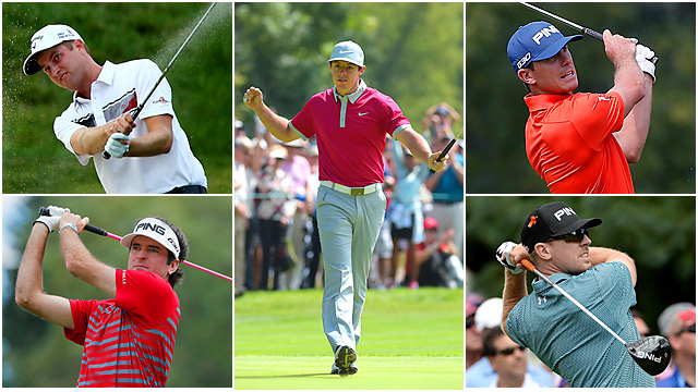 The PGA Tour returns to East Lake this week with so much (cash!) on the line. The FedEx Cup winner, of course, will pocket a cool $10 million bonus. Who will be this year's Bill Haas? Naturally, Chris Kirk, Billy Horschel, Bubba Watson, Rory McIlroy and Hunter Mahan have the inside track based on their current standings. Here's a quick look at each guy's go-to club(s), based on statistical rankings throughout the 2013-2014 campaign. (Source: PGA Tour's ShotLink)