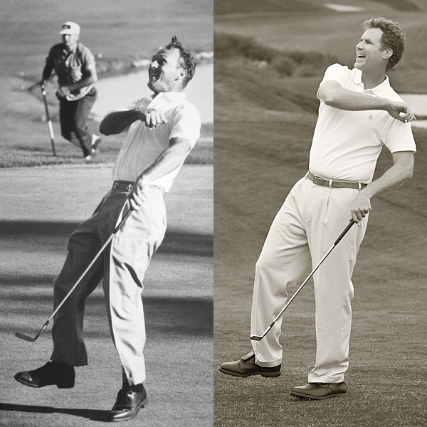 "No. 3: HAT'S OFF TO ARNIE!                           Arnold Palmer charges from seven strokes back to win the 1960 U.S. Open at Cherry Hills.                           Will Says: ""This was the only U.S. Open Palmer ever won, but                           it's historic for another reason. After the round, he was extremely thirsty. But he didn't want an ordinary drink. He wanted something with pizzazz. So his caddie — 'Ice Tea' Jones — said, 'Hey, let's mix some ice tea and lemonade!' Arnie said, 'That's stupid.' But Ice Tea said, 'If you don't like it, you can fire me as your caddie.' Well, Arnie chugged six gallons of the drink,                           which became known as the 'Arnold Palmer.' That's why the 1960 U.S. Open was important — because he created a legendary drink that would be served at Applebee's around the world."""