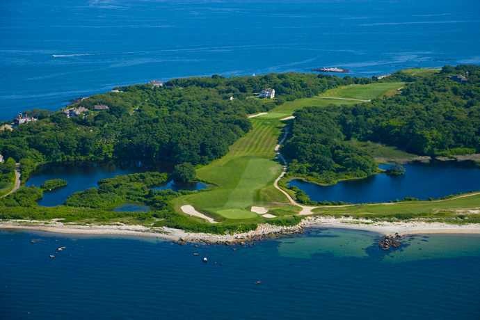 "FISHER'S ISLAND (No. 15 U.S.;  No. 24 World)                                   In 1987, when this course on an island in Long Island Sound first appeared on Golf Magazine's Top 100 list (at number 73) a club representative wrote the magazine: ""We do not wish our club to be ranked, visited or, for that matter, known."" The same attitude prevails today."
