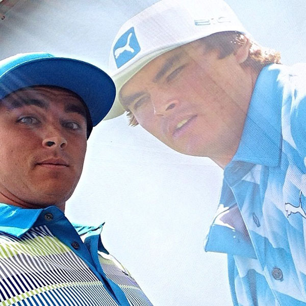 @therealrickiefowler: A pic from yesterday in honor of #zurichblueout today at the #zurichclassic #trulylove#AutismAwarenessMonth