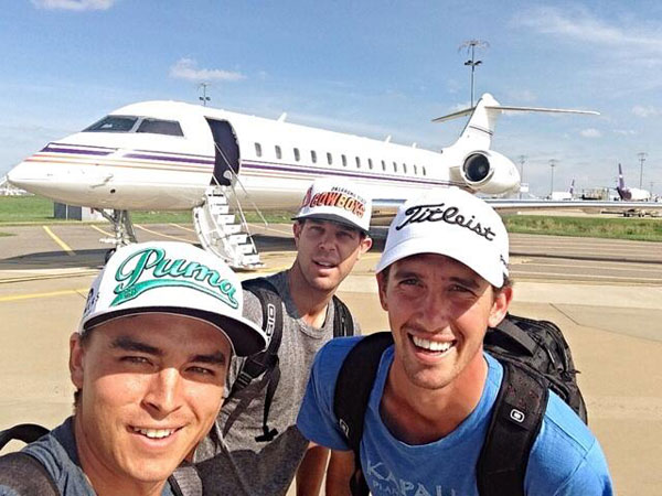 @therealrickiefowler: #SelfieSunday we be heading to the #USOpen in style thanks to #FedEx #GlobalExpress #Pinehurst@kevintway #ChessonHadley