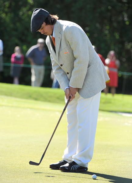 In honor of its 100th anniversary, Zurich had players dress in 1912-inspired clothing. Puma designed this custom outfit for Fowler.