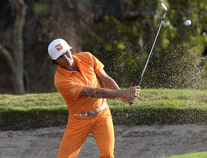 """I know that I'm known for what I wear on the golf course, but I want to be known as a great player.""                       --Rickie Fowler on why he's working with new coach Butch Harmon."