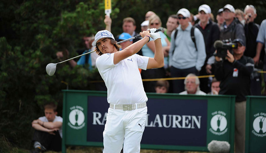Rickie Fowler finished the first round at one-over 71.